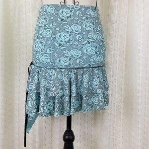[NEW] Bebe Coulysse 2 Tier Ruffle Skirt